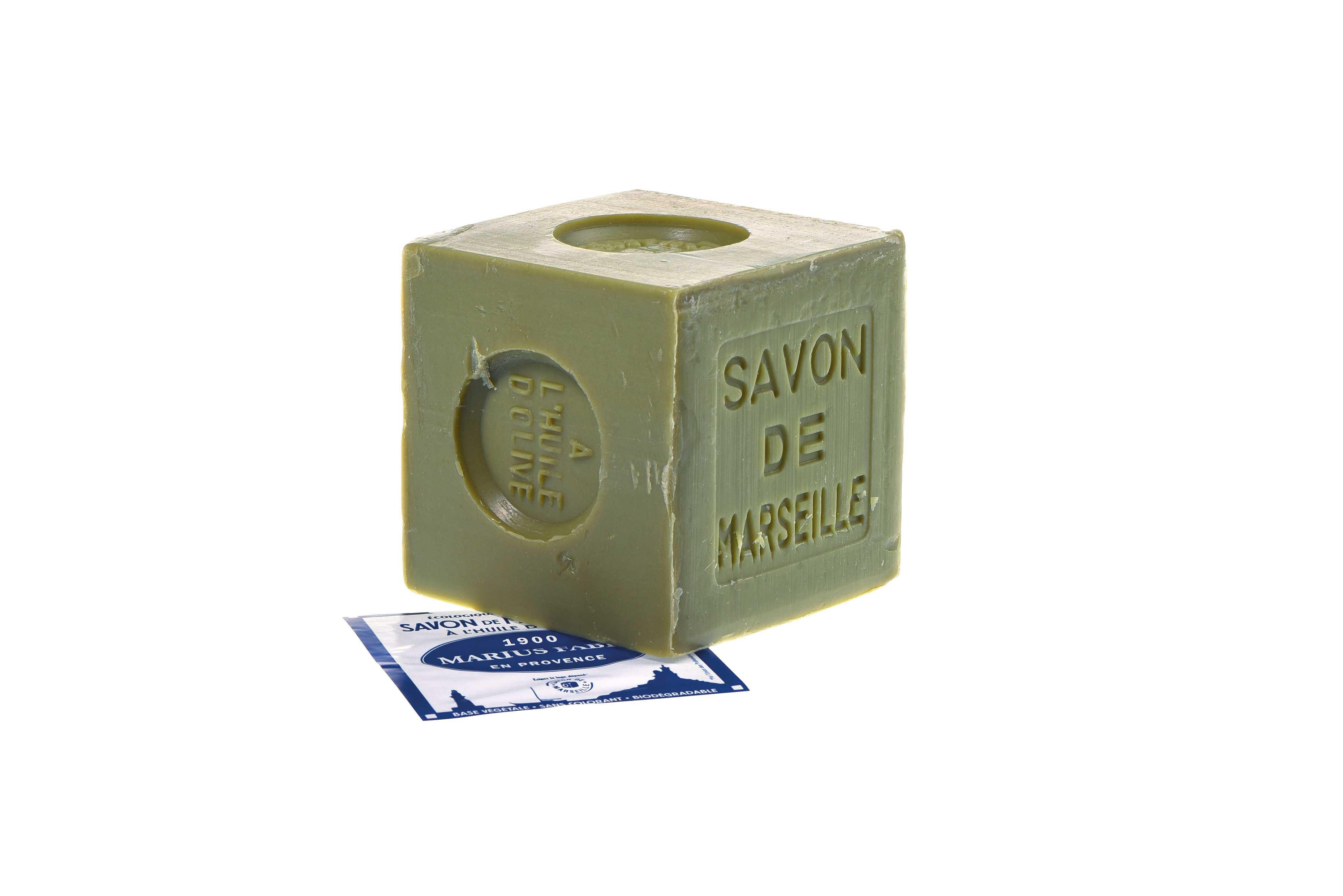 Savon de Marseille Marius Fabre  à l'huile d'olive 400 gr