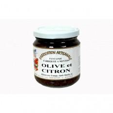 Confiture d'Olive et citron 220 gr