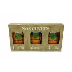 """Coffret """"Nos Cuvées"""" 3x100 ml"""