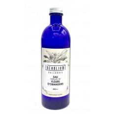 Véritable Eau distillée de Fleurs d'orangers de Vallauris (Nerolium) 200ml