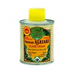 Huile d'olive Nicolas Alziari cuvée César - 100 ml (AOP Nice) (BIDON)