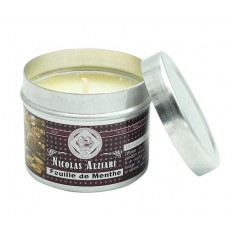 Bougie parfumée feuille de menthe 85gr