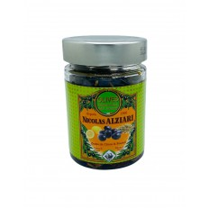 Bocal olives noires: Huile, citron, fenouil 180 g