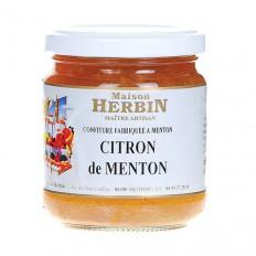 Confiture de citron de Menton 230gr