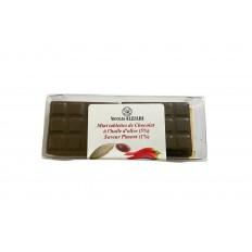 6 Mini Tablettes Chocolat à l'huile d'olive et Piment