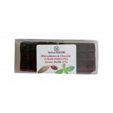 6 Mini Tablettes Chocolat à l'huile d'olive et Basilic