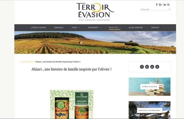 Olives truffe