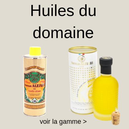 huile d'olive du domaine