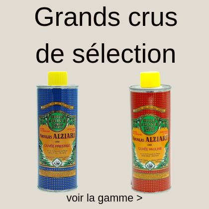 grands cru d'huile d'olive