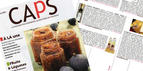 CAPS - Le magazine des Commerces Alimentaire de Proximité
